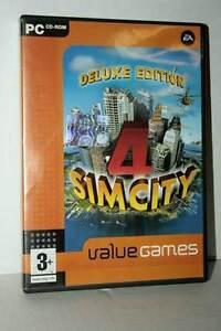 SIM-CITY-4-DELUXE-EDITION-GIOCO-USATO-BUONO-PC-CDROM-VERSIONE-ITALIANA-GD1-43228