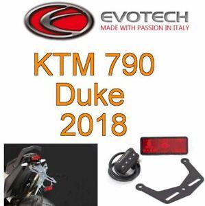 KIT-PORTATARGA-REGOLABILE-RECLINABIL-EVOTECH-KTM-DUKE-790-2018-2019