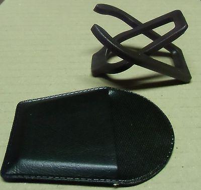 Taschen-Pfeifenständer im Etui gut für unterwegs in braun