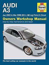 haynes owners workshop car manual audi a3 petrol diesel 2003 rh ebay co uk audi a3 2000 user manual manual audi a3 ano 2000