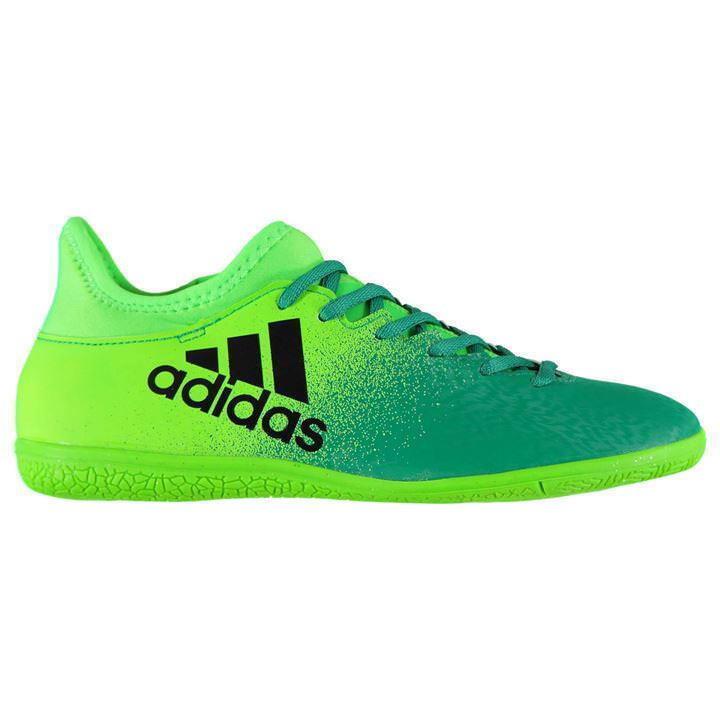 Adidas Fútbol Zapatos X 16.3 para hombre interior Techfit Fútbol Zapatillas Nuevo