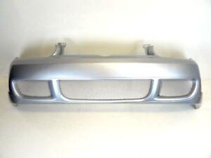 VW-Golf-MK4-1998-2003-R32-Style-Front-Bumper-Painted-Reflex-Silver-LA7W
