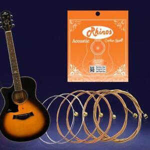 acoustic guitar string no 1 e 2 b 3 g 4 d 5 a 6 e phosphor bronze 10 50 52 53 56 ebay. Black Bedroom Furniture Sets. Home Design Ideas