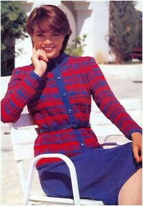 Ladies DK Checked Jacket and Plain Skirt Vintage Knitting Pattern Instructions - Dunoon, United Kingdom - Ladies DK Checked Jacket and Plain Skirt Vintage Knitting Pattern Instructions - Dunoon, United Kingdom