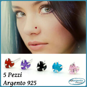 piercing-naso-argento-orecchini-brillantino-set-per-da-il-nasino-nasini-barretta