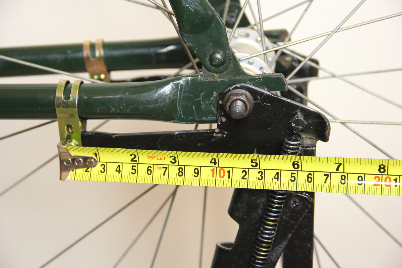 Vintage 28/'/' Bike Bicycle Drop Stand Rear Kickstand Black Beach Bike Cruiser