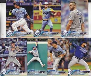 size 40 46794 0ae9a Details about 2018 TOPPS Series 1 TAMPA BAY RAYS team set (7 cards)
