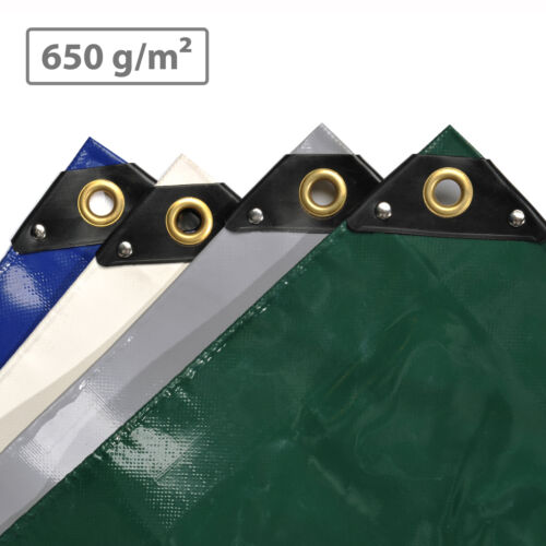 Nemaxx premium lona cobertora con ojales-extra fuerte - 650 g/m² PVC camiones Plane