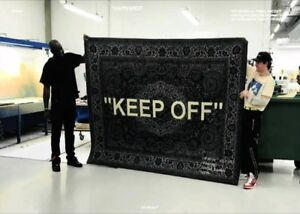 Ikea X Off White Keep Off Rug Tapis Carpet Virgil Abloh Very