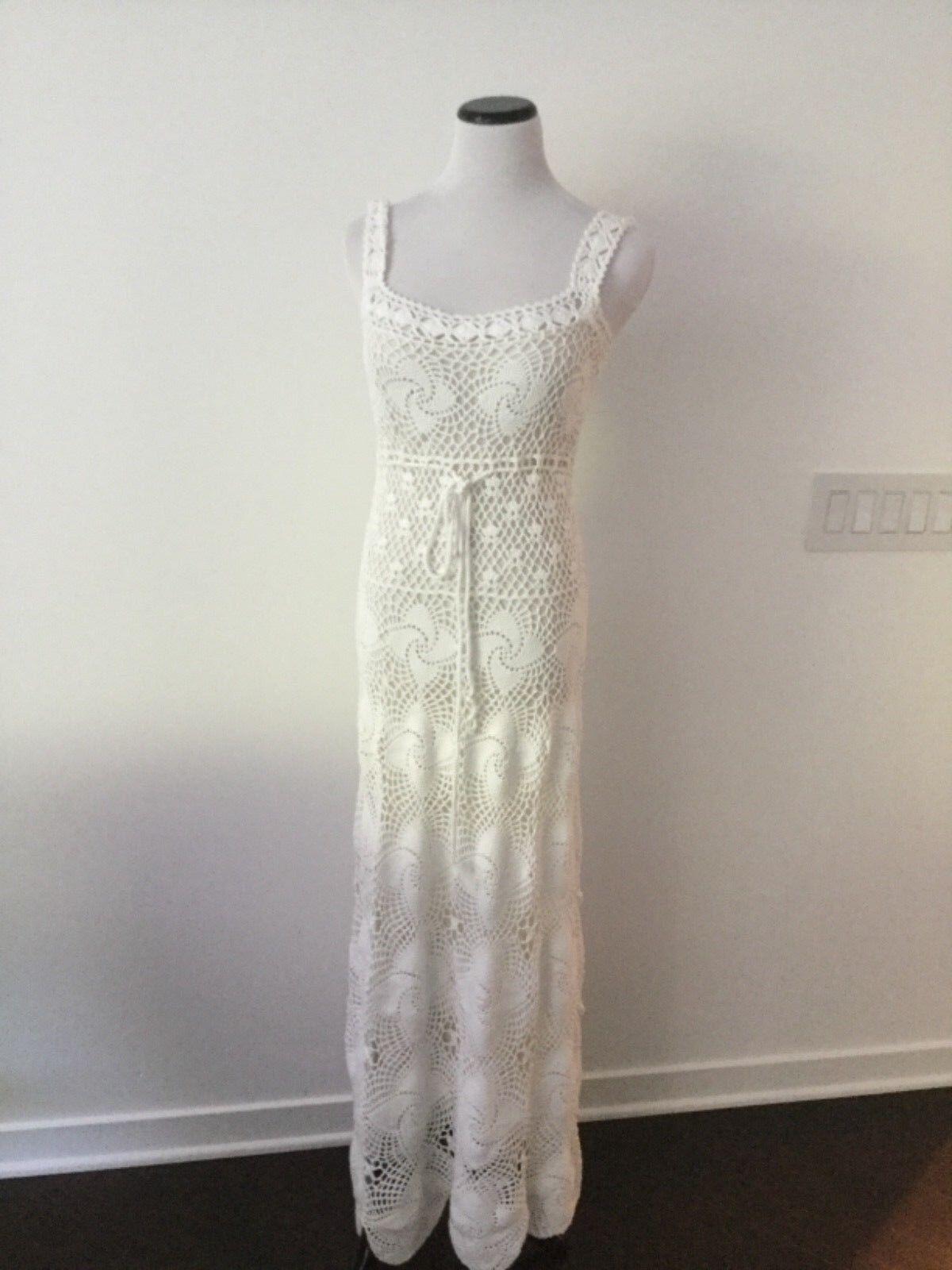 Nuevo con etiquetas Catherine Malandrino Vestido  blancoo Talla 10  la calidad primero los consumidores primero