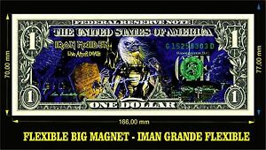 IRON-MAIDEN-LIVE-AFTER-DEATH-IMAN-BILLETE-1-DOLLAR-BILL-MAGNET