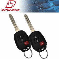 2 For Toyota Prius C Rav4 2013 2014 2015 2016 Keyless Entry Remote Key H Chip