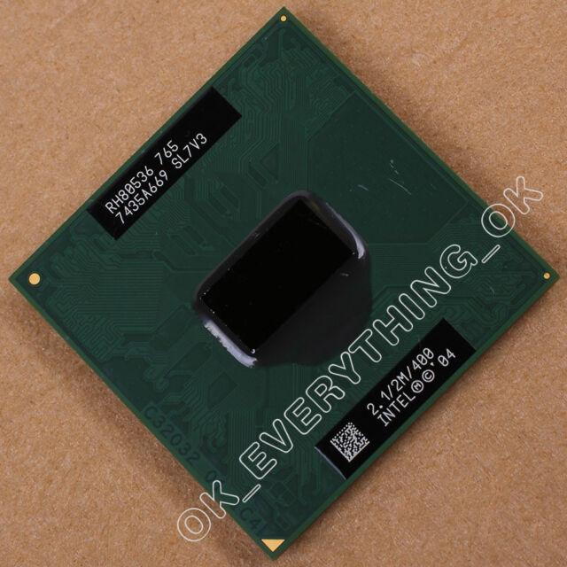Intel Pentium M 765 SL7V3 2.1GHz Single-Core Processor CPU RH80536GC0452M