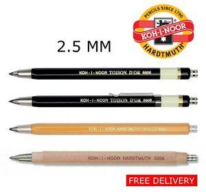 Koh-i-noor 5356 3.8 Mm Embrague Mecánico Lápiz Leadholder-Negro