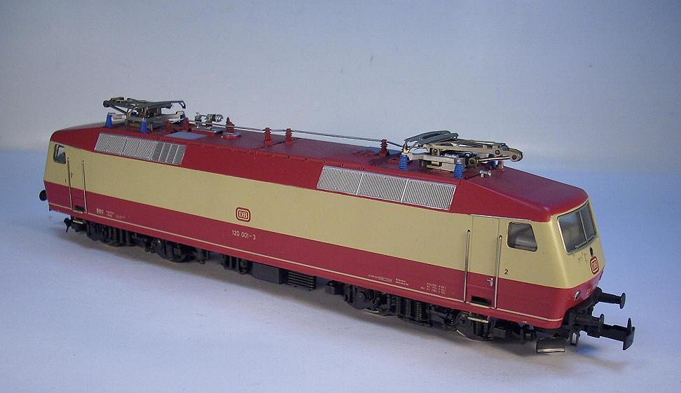 Märklin h0 e-Lok br 120 001-3 de la DB