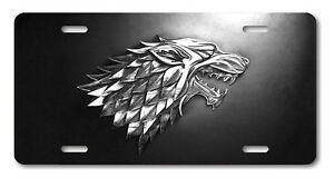 HOUSE BARATHEON Game of Thrones Aluminum License Plate Tag New