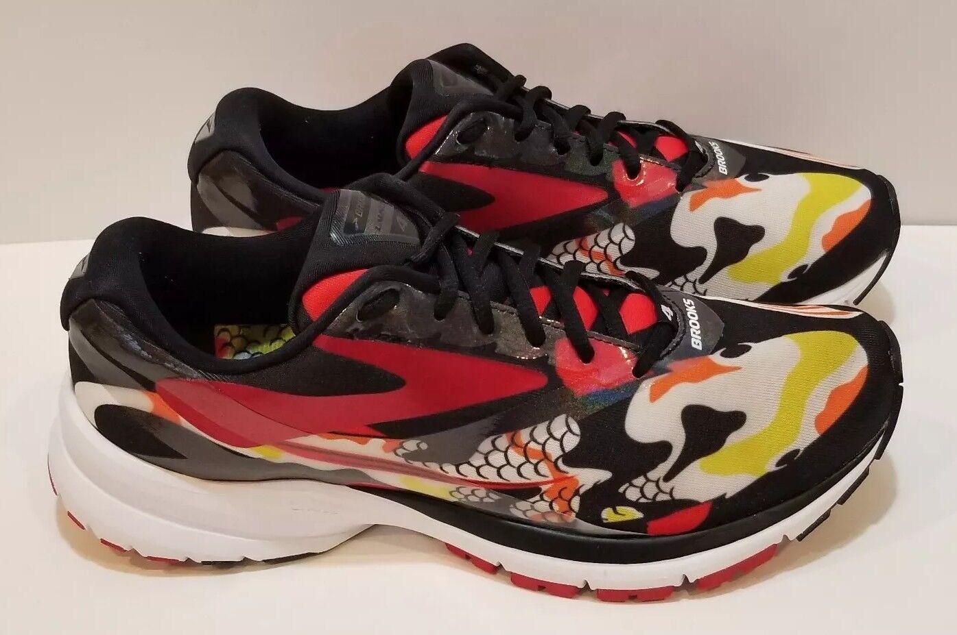 damen Brooks Launch 4 Tokyo Koi Running schuhe Größe 10 Marathon 2017