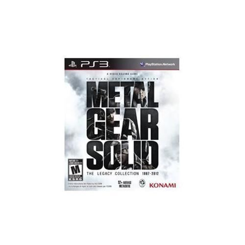 Metal Gear Solid: The Legacy Collection 1987-2012 (SONY PlayStation 3, 2013) PS3