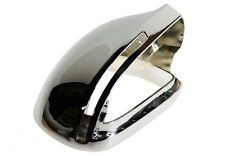 2008 - 2011 AUDi A6 S6 GLOSS CHROME Mirror Cover Replacement PAIR - RS6 LOOK new