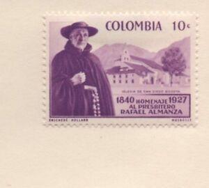 Colombie-Non-oblitere-Pere-ALMANZA-116