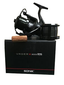 New-2019-Sonik-Vader-X-8000-RS-Reel-Quick-Drag-Set-of-1-2-or-3-Carp-Fishing