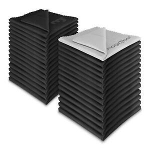 (30 Pack) Magicfiber ® Premium Microfibre Chiffons De Nettoyage Pour Objectif Lunettes Écran-afficher Le Titre D'origine