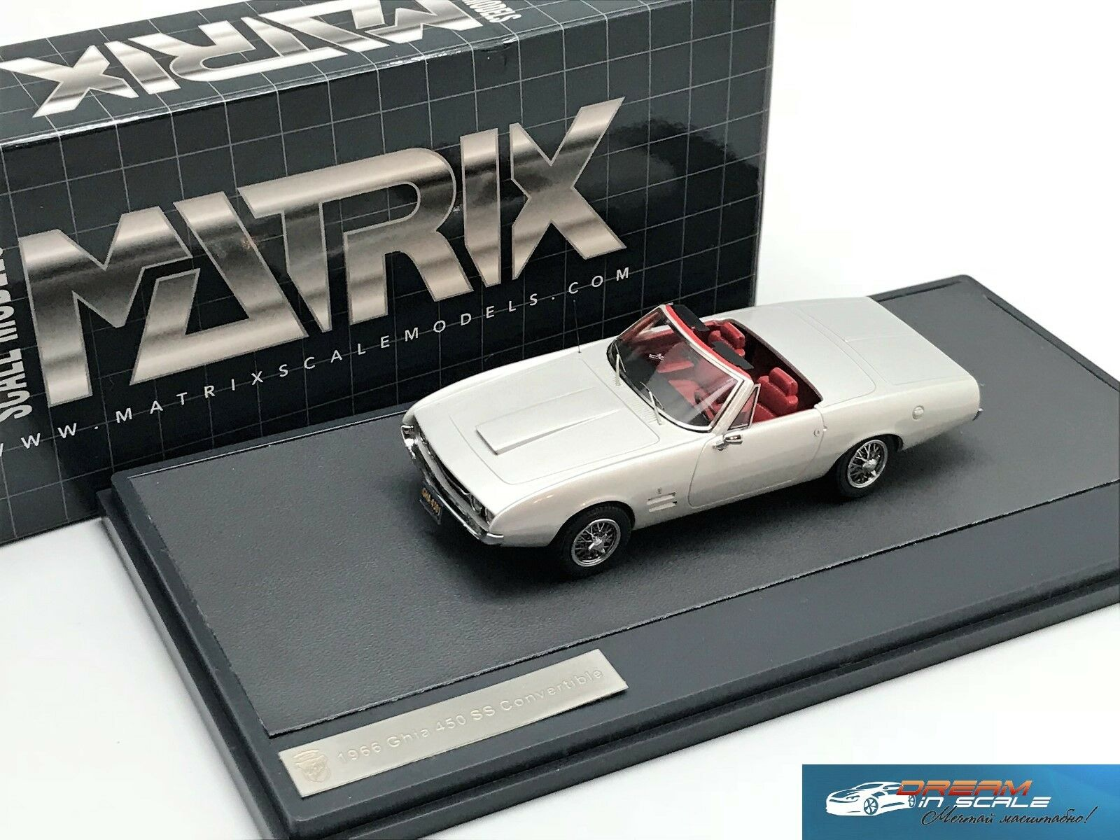 Matriz Ghia 450 Ss Converdeible 1966 MX10701-031 1 43