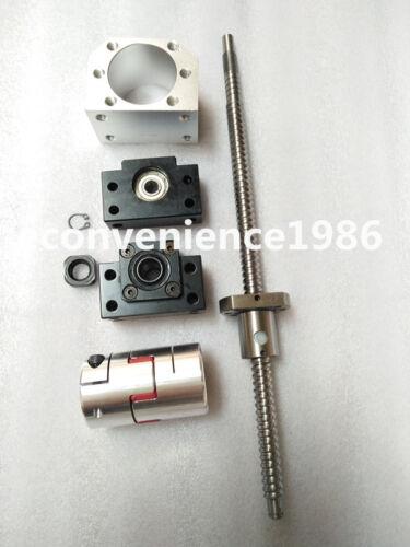 Anti-backlashed RM2505-525 mm Ballscrews /& BF20//BF20 /& 12*17 mm couplering