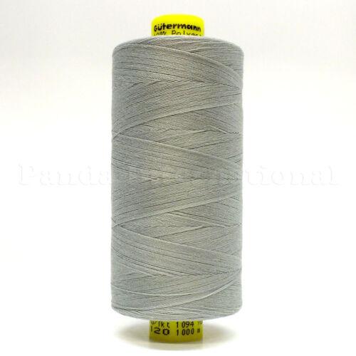 GUTERMANN Mara 120 100/% POLYESTER THREAD 1094 yard//spool Reg Sewing Color 261