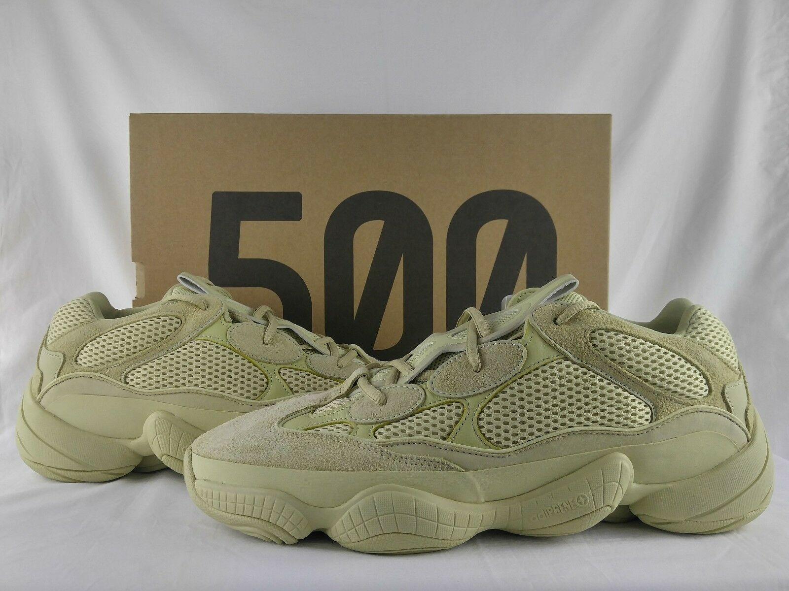 74174cc4a Limited Ed Shoes adidas Yeezy 500 Super Moon Yellow Desert Db2966 ...