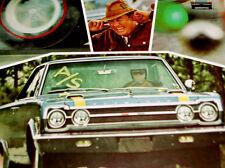 1967 PLYMOUTH GTX BELVEDERE ORIGINAL AD-poster/print/BOSS-VTG/440/426 v8 engine