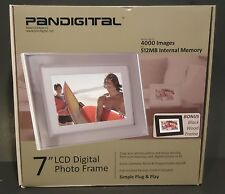 "Pandigital PAN7059MW03 7"" Digital Picture Frame"
