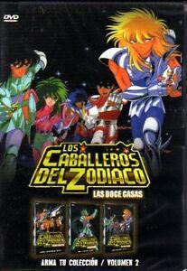 Caballeros del zodiaco las 12 casas dvd vol 2 32 capitulos espa ol latino new ebay - Casas del zodiaco ...