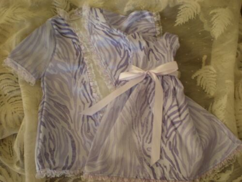 DOLL NIGHTGOWN 4  AMERICAN GIRL   ROBE animal lavender