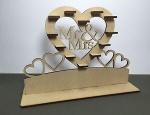 Y2-60xChoc-Mr-amp-Mrs-034-Ferrero-Rocher-Heart-Tree-Wedding-Display-Stand-Centrepiece