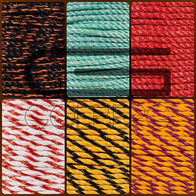 Variety of Diameters and Lengths to Choose from GOLBERG G Hollow Braid Polypropylene Rope in Yellow Multiple Use