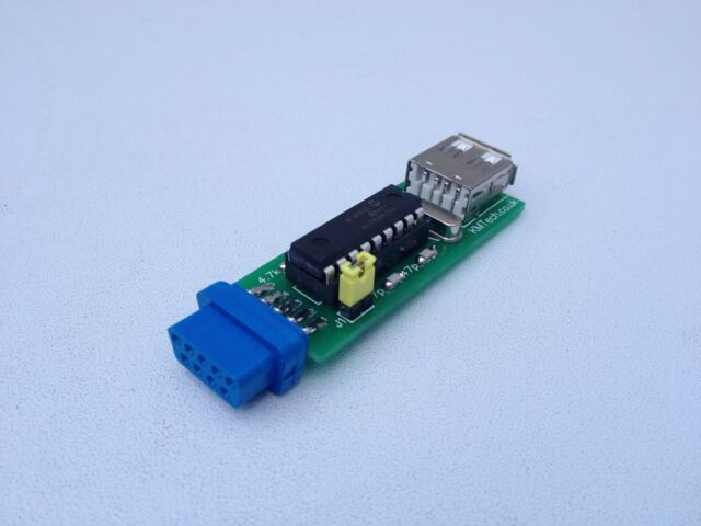 NEW ! USB to MSX mouse adapter Towns Roland works with optical wireless mouse.