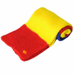 Mens-Adidas-Wavy-Stitch-Knitted-Striped-CG-Scarf-Fashion-Winter-Soft-Neck-Warmer