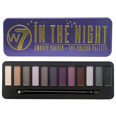 W7 In The Eyeshadow Palette Tins - Buff, Night, Nude - BUY MORE, SAVE MORE