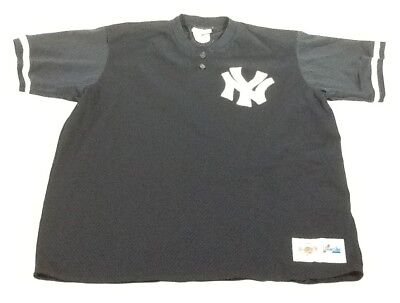 cheaper 2fdb0 37cc5 St962 MLB Majestic Men's Navy Blue New York Yankees Jersey XL | eBay