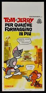 Plakat Tom E Jerry Für Paar Käsekuchen IN Mehr 'Zeichentrick Animation N61