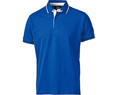 Dickies Anvil Work Workwear Polo T-Shirt in BLUE Size S 3XL