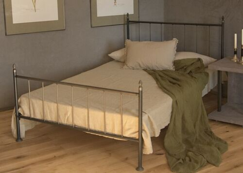 lattenrost industrie design metallbet 120x200 im loft stil inkl