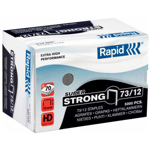 73//12mm Rapid Nr 73 Super Strong Heftklammer 10-12mm Typ 73 10-12mm 73//10mm