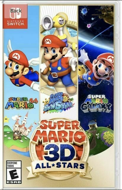 Super Mario 3D All-Stars Nintendo Switch  - $75.00