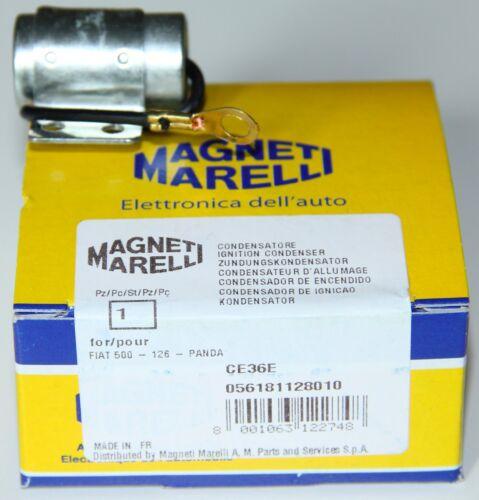 Classica FIAT 500 124 126 131 600 850 X1//9 MAGNETI MARELLI Condensatore Nuovo di Zecca
