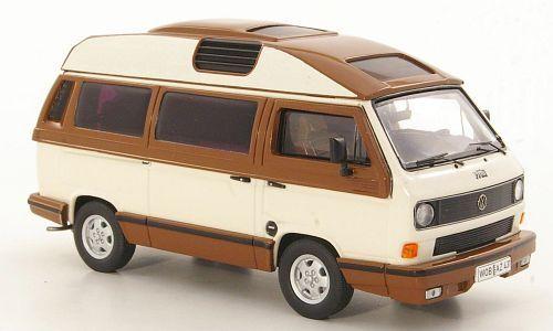 Volkswagen t3b Dehler-profesional 1988 blanco marrón 13078 premium classixxs 1 1 1 43 New  24e4cc