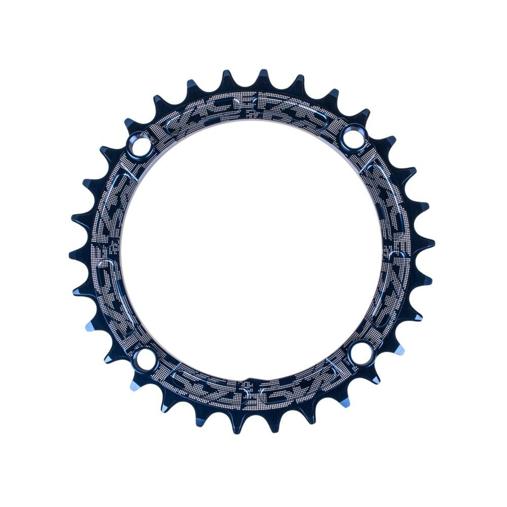 New Race Face Narrow-Wide Chainring 30t x 104mm blueee Sigle Speed 1x