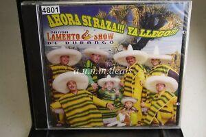 Banda-Lamento-Show-Ahora-Si-Raza-Ya-Llego-2003-Music-CD-NEW