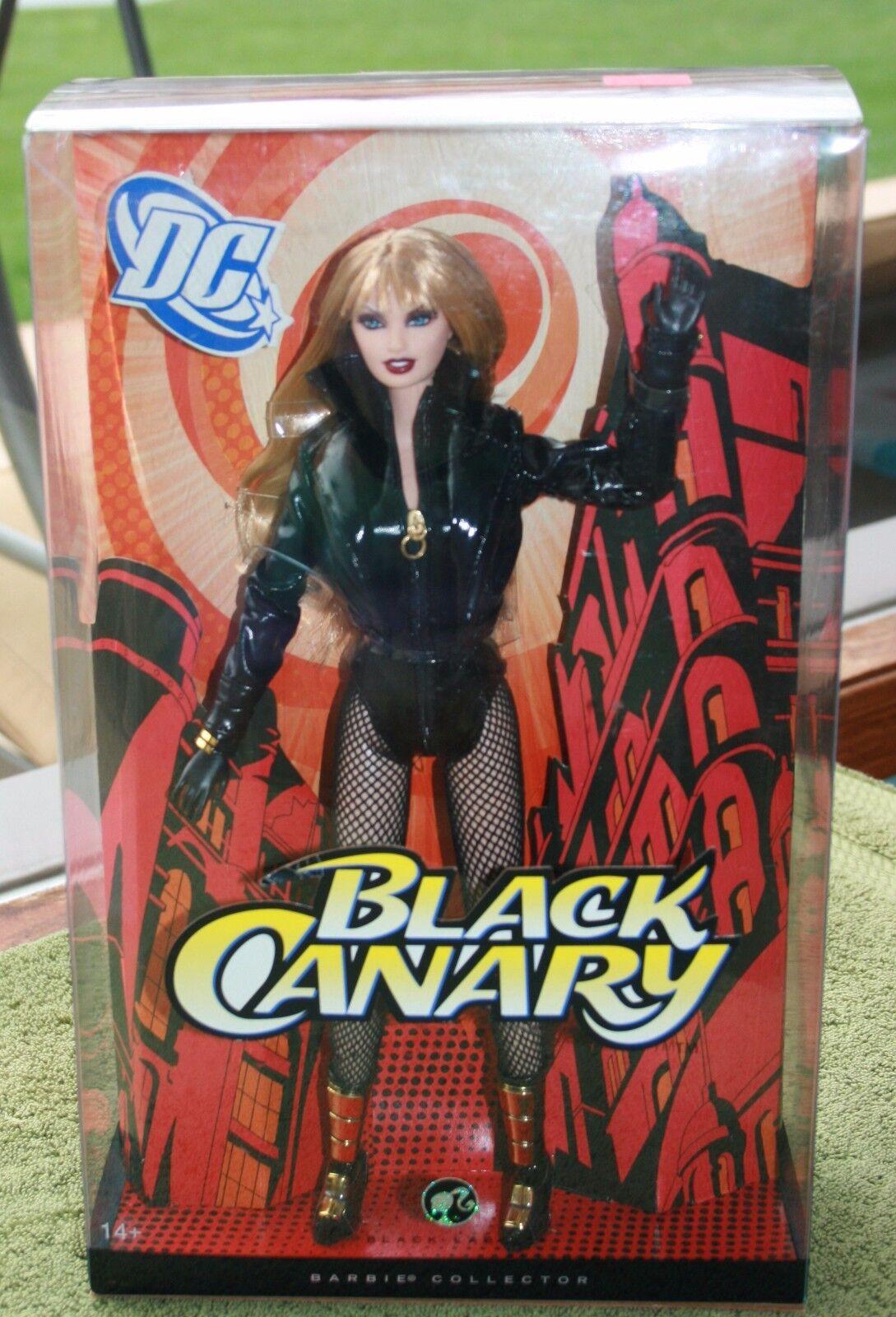 Barbie negro Label Barbie Collector DC Canario Negro De Mattel 2008